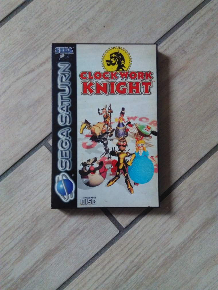 clockwork knight saturn sega