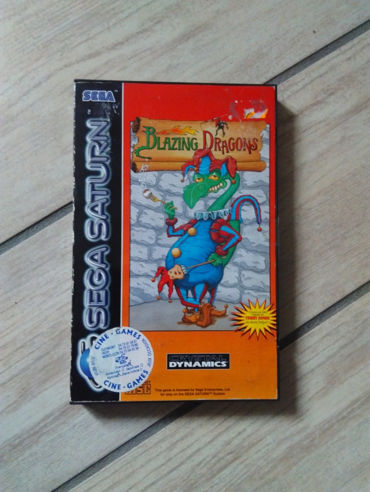 blazing dragon saturn sega