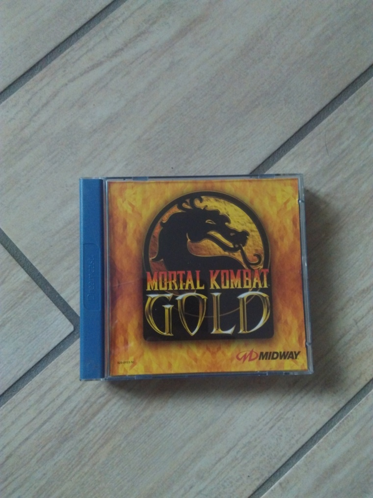mortal kombat gold sega dreamcast