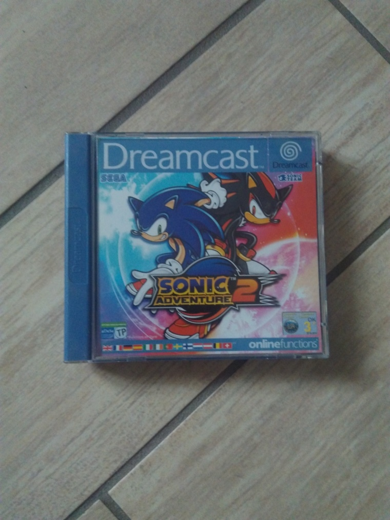 sonic adventure 2 sega dreamcast