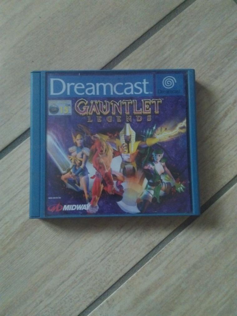 gauntlet legends sega dreamcast