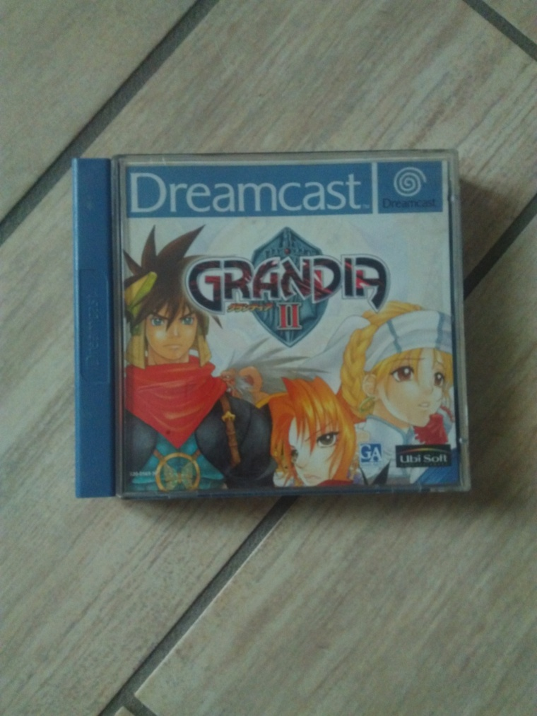 grandia 2 sega dreamcast