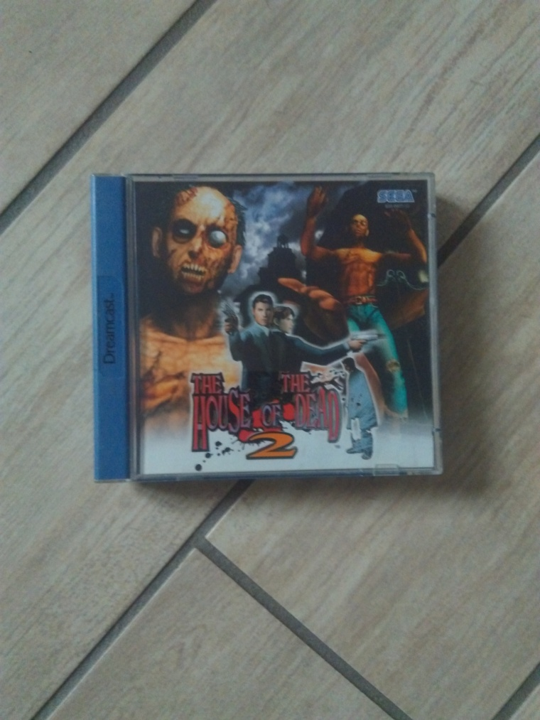 house of the dead 2 sega dreamcast