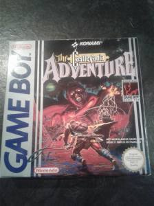 castlevania adventure game boy pal complet nintendo