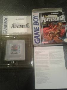 castlevania adventure game boy pal complet nintendo us