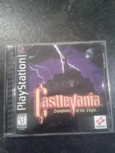 castlevania symphony of the night ps1 sony us