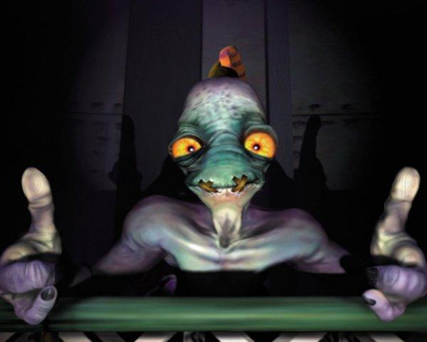 abe oddworld sony playstation ps1