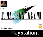 final fantasy 7 ps1 sony playstation jaquette