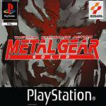 mgs metal gear solid ps1 sony jaquette