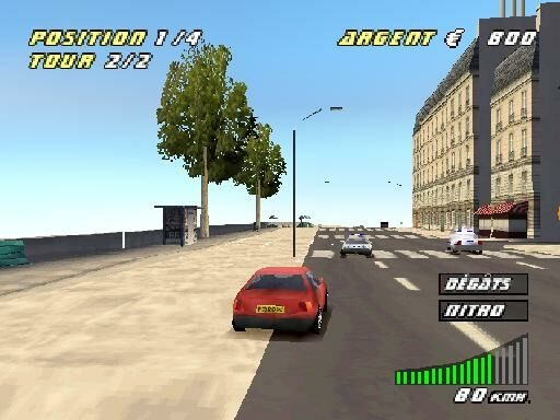 paris marseille racing 2 ps1 sony playstation