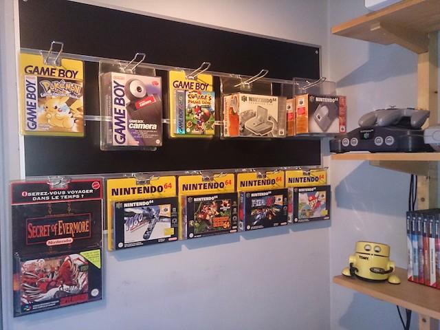jeux rétro, collection rétro, rétro gaming, jeux gameboy, jeu nintendo 64