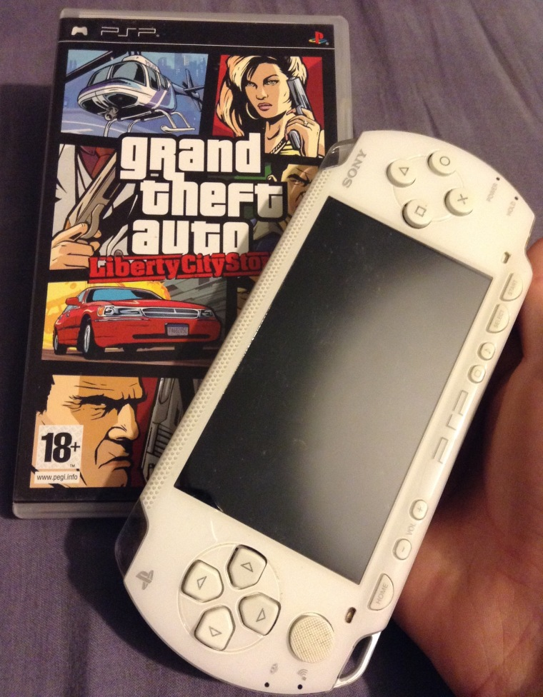 psp, sony, grand theft auto, collection gaming