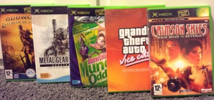 jeux xbox, collection xbox, oddworld, GTA