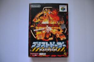 BLASTDOZER 64 Blast Dozer N64 Jap complet (1)