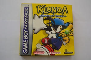 Klonoa Empire of Dreams GBA complet (1)