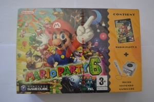 Mario Party 6 Pack Gamecube NEUF (1)