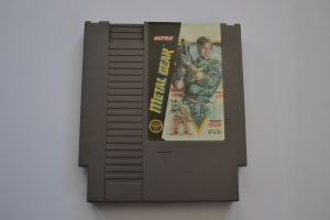 Metal Gear NES Loose US (1)
