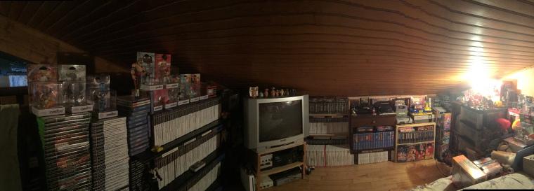 collection jeu vidéo, jeux rétro, collection retrogaming, amiibo, trésor du grenier