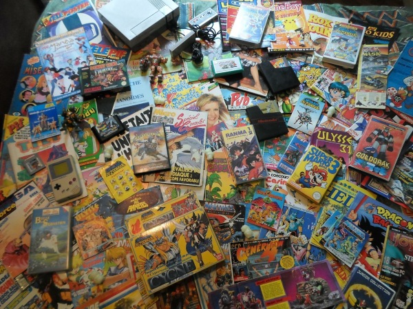 collection jeu vidéo gameboy goldorak super mario 3 rox et rouky dragon ball z