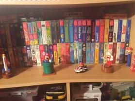 consoles retrogaming, figurines mario, jeux retrogaming