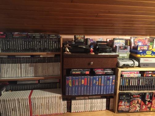 collection retrogaming, NES, SNES, Nintendo 64, jeux atari, nintendo DS, jeux wii