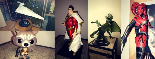 figurines DC, figurines star wars, figurines marvel, collection figurine, collection star wars, colelction marvel, collection DC